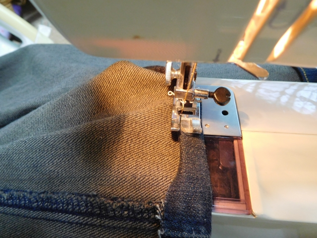 裾上げの工程方法